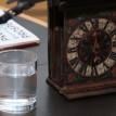 Celodřevěné lihýřové hodiny