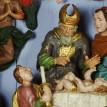 Barokní Vánoce - dřevěný betlém