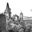Historické hradby v Berouně