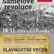 Plzeňka Beroun Plakáty Sametová revoluce A3