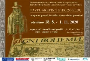 výstava Hořovice – Mapa Pavla Aretina na pozadí českého stavovského povstání