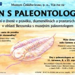 Den s paleontologem 2017, plakát
