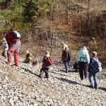 Z geologické exkurze do okolí Radotína