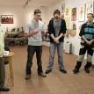 Ze zahájení výstavy s edukační tématikou