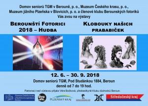 """Výstavy: """"Klobouky našich prababiček"""" a """"Fotorici 2018 – Hudba"""""""