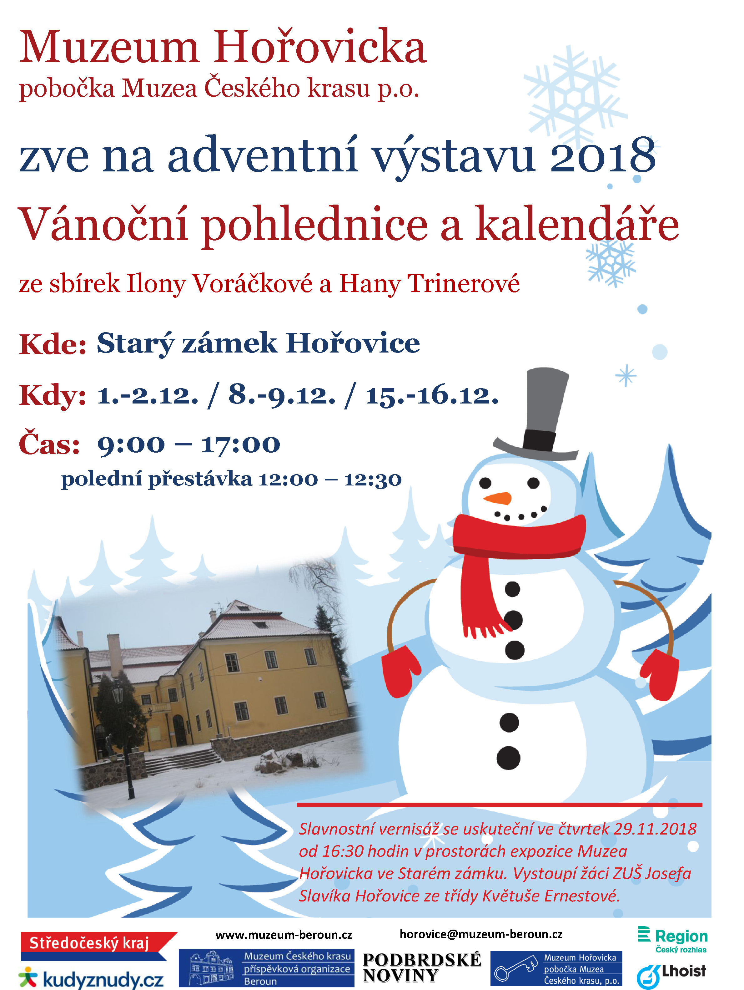 plakat_ADVENT_Vernisaz_MuzHor_2018