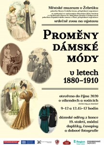 Výstava: Proměny dámské módy 1880-1910