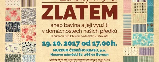 1709 MK Beroun Za bílým zlatem_pozvánka_A5.indd
