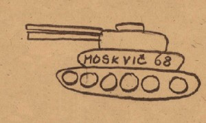 """Výstava """"1968: Satira a tanky"""""""