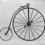 Velociped/cykel. Höghjuling från Hochrad and Holz, 1880-talet.